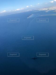 水の大きな体のビューの写真・画像素材[791039]
