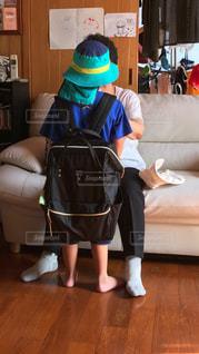 リビング ルームの子の写真・画像素材[806131]