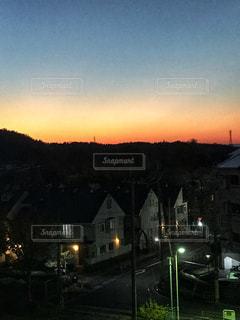 夜の街の景色の写真・画像素材[893046]