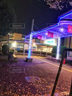 夜の街の写真・画像素材[895876]