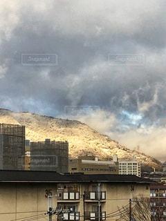 空には雲のグループの写真・画像素材[970260]