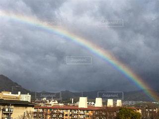 虹の街の写真・画像素材[1029044]