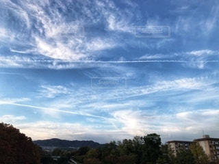 空の雲の群の写真・画像素材[2684166]
