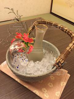 オシャレな冷酒の写真・画像素材[719261]
