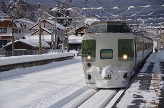 雪に覆われた鉄道 - No.706427