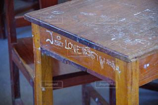 木製テーブル - No.712502