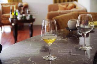 テーブル ワインのグラス - No.845842