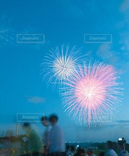 空に花火のグループ - No.720819