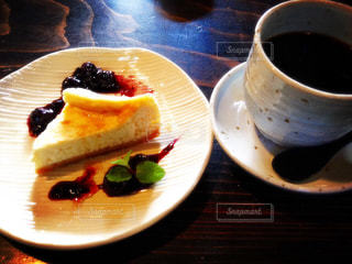 チーズケーキとコーヒー - No.762888