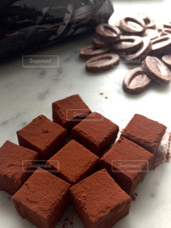 生チョコレートの写真・画像素材[1009223]