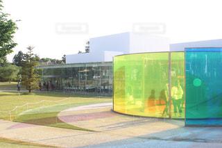 金沢21世紀美術館の写真・画像素材[1186396]