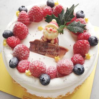 クリスマスケーキの写真・画像素材[1644702]