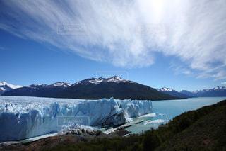 パタゴニアの氷河,アルゼンチンの写真・画像素材[709016]