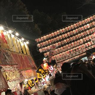 夜祭りの写真・画像素材[1020202]