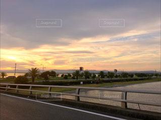 夕焼けの写真・画像素材[875156]