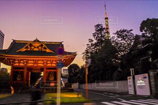 東京タワーと神社 - No.899295