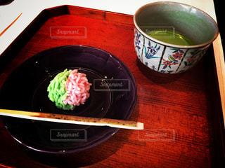 お茶菓子・お抹茶の写真・画像素材[707156]