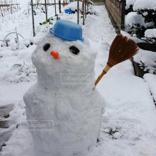 雪だるまの写真・画像素材[709347]
