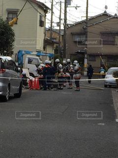 ガス漏れ危険の写真・画像素材[963464]