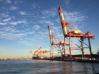 水体の大型船の写真・画像素材[706456]