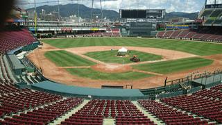 野球スタジアムの写真・画像素材[708029]