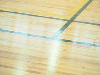 近くの堅い木製の床を - No.795399