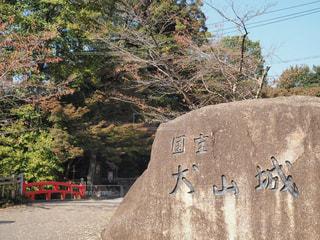 石の壁の横に立っている人々 のグループの写真・画像素材[849443]