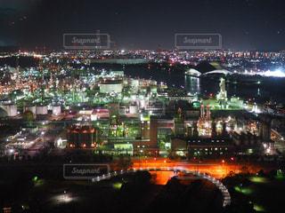 夜の街の景色の写真・画像素材[1051244]