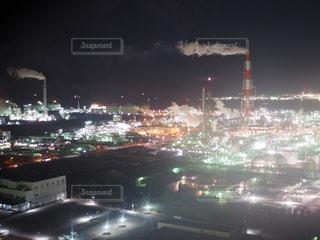 夜の街の景色の写真・画像素材[1051246]
