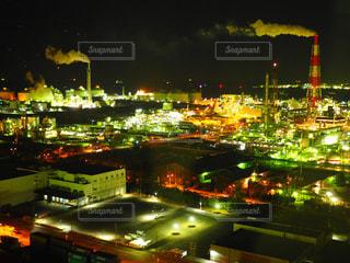 夜の街の景色OLYMPUSの写真・画像素材[1051252]