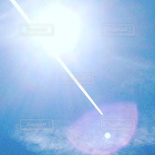 空に虹の写真・画像素材[709283]