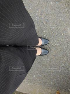 歩道を歩く人の写真・画像素材[762549]