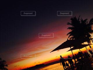 グアムの夕暮れの写真・画像素材[717352]
