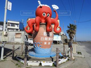 観光地日間賀島のモニュメントの写真・画像素材[963352]