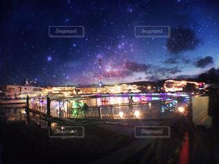 夜の街の写真・画像素材[710176]