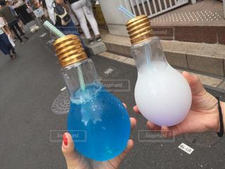 電球ソーダの写真・画像素材[730120]