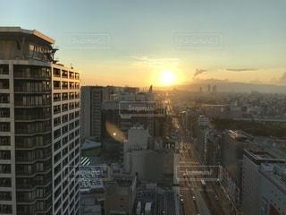 高層ビル群の写真・画像素材[1377376]