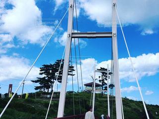 牡鹿半島の公園に橋 - No.738703