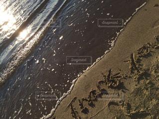 夕暮れの海にて - No.792384