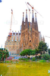 都市の建物のような城の写真・画像素材[794879]