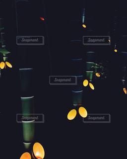 竹灯籠の写真・画像素材[792949]