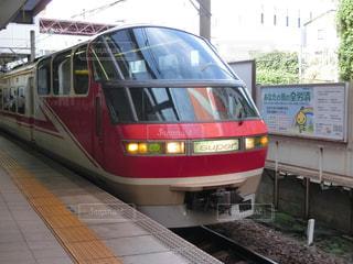 列車が駅に引いての写真・画像素材[767639]