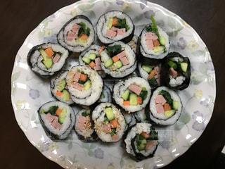 皿の上の寿司 - No.713520