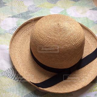 麦わら帽子の写真・画像素材[711979]