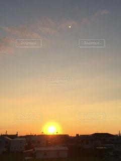 夕日のパワーの写真・画像素材[712452]