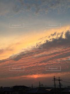 赤の波の写真・画像素材[712565]