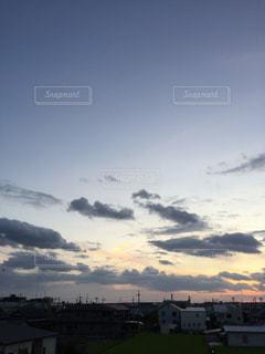 夕暮れの写真・画像素材[713439]