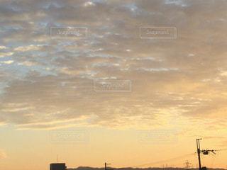 電線と空の写真・画像素材[714552]