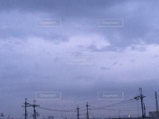 パープルスカイの写真・画像素材[725453]