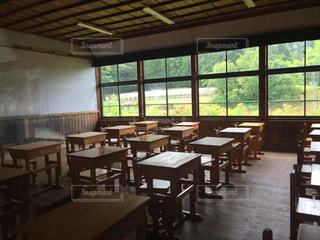 廃校の教室の写真・画像素材[1705325]